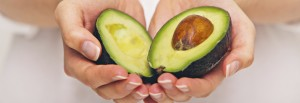 eating avocados