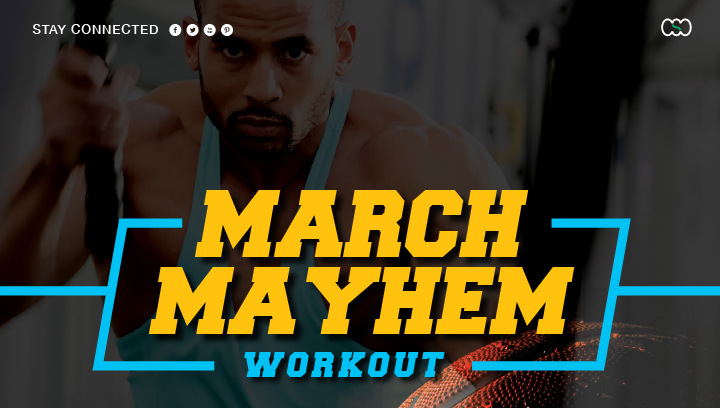 March Mayhem Workout at Commonwealth Sports Club