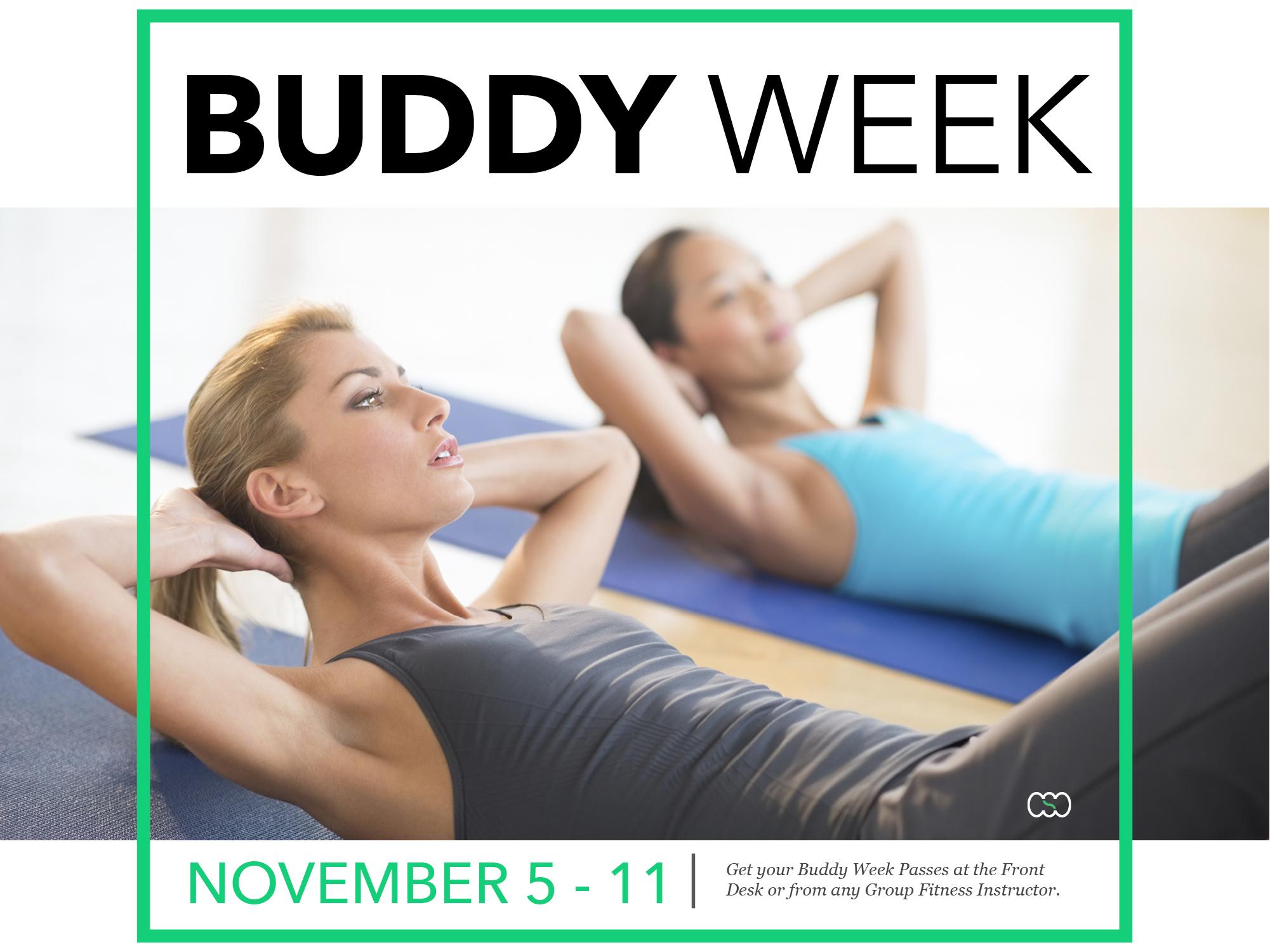 Buddy Week at CSC Nov 5-11