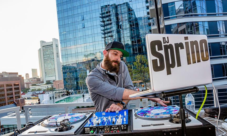DJ Sprino live at CSC Nov 3