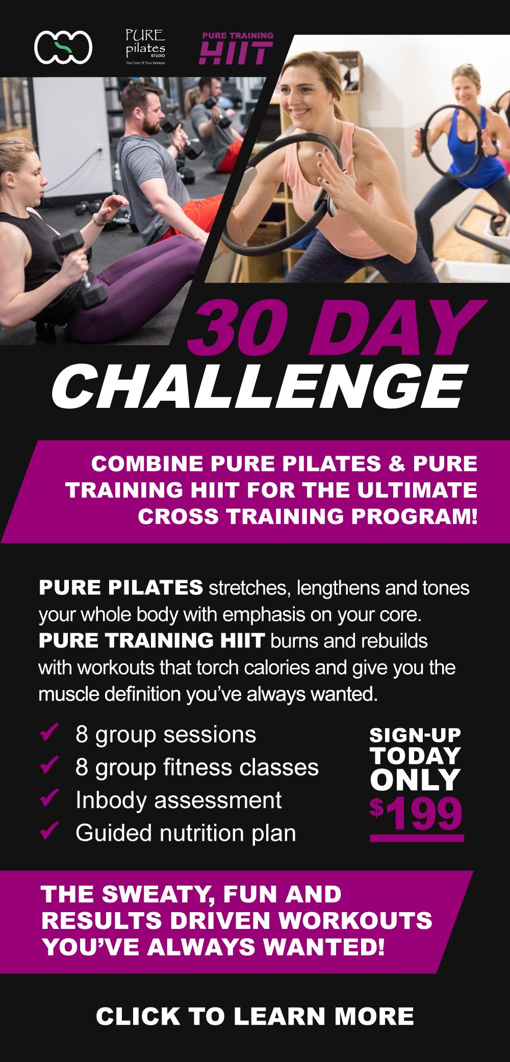 Pure Pilates Classes Commonwealth Sports Club